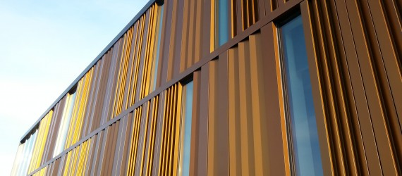 Metal Architecture | Janet Wallace Fine Arts Center