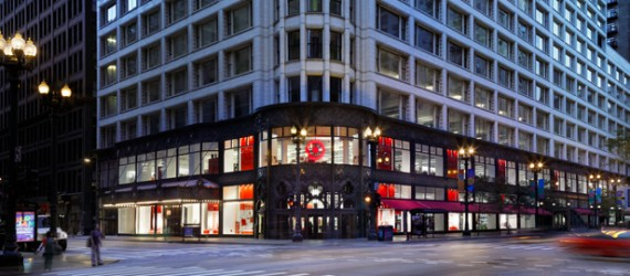 Metal Construction News | City Target on State Street in Chicago