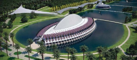 Florida Polytechnic University's New Innovation, Science and Technology Building Takes Shape
