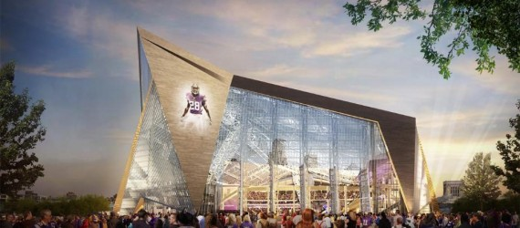 Videos | New Vikings Stadium: Transition From Old To New and New Stadium Fly-Through