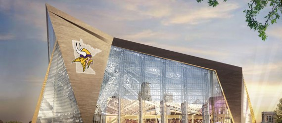 Point Person: McGrath Team Tackles Vikings Stadium Exterior Envelope
