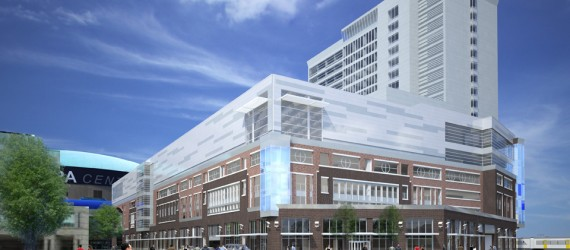 HARBORCENTER on Schedule to Open this Fall