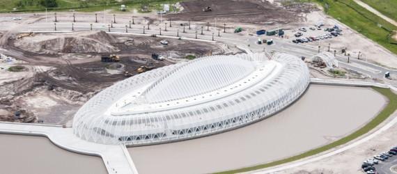 Builders Solve Calatrava's Florida Polytechnic Puzzle