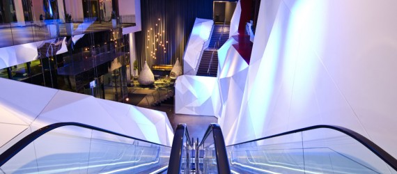 MG McGrath Awarded Craftsmanship Award for Krion 3-Dimensional Wall at the Radisson Blu Mall of America