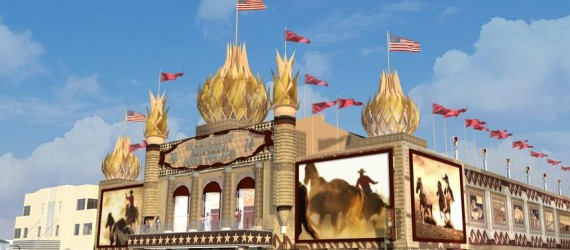 Video: Corn Palace | The Domes Come Down