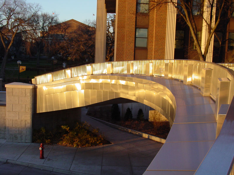 University Of Minnesota Northrop Pedestrian Bridge Mg