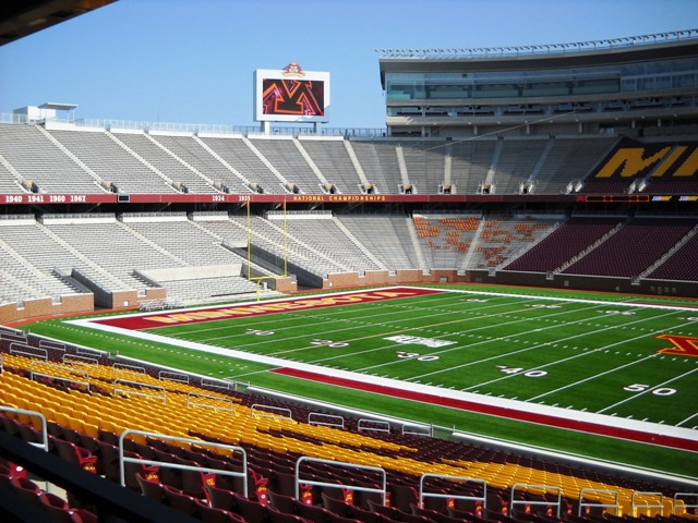 Tcf Bank Stadium Mg Mcgrath Inc Sheet Metal