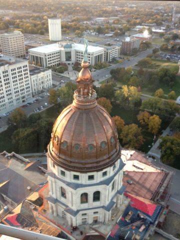 Kansas State Capitol Mg Mcgrath Inc Sheet Metal