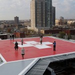 HENNEPIN COUNTY MEDICAL CENTER HELIPAD