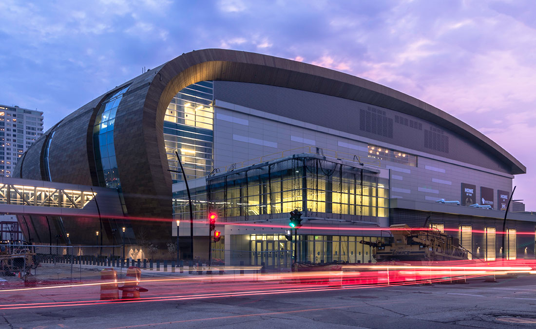 Fiserv Forum Mg Mcgrath Inc Sheet Metal
