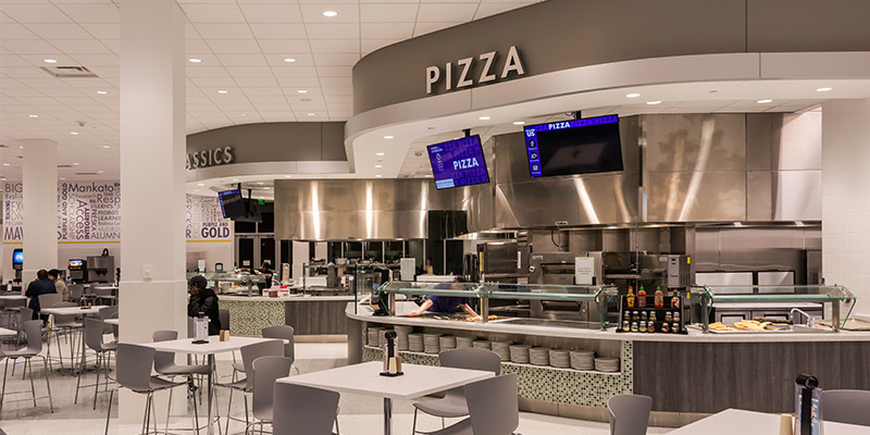 Mankato State University Dining Center Mg Mcgrath Inc