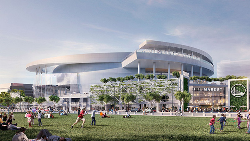 Chase Center Rendering