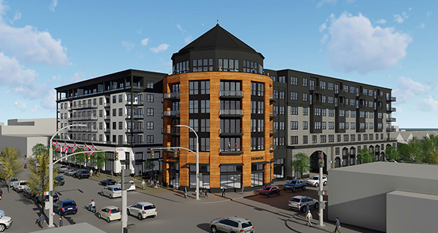 Daymark Apartment Amp Retail Complex Mg Mcgrath Inc Sheet